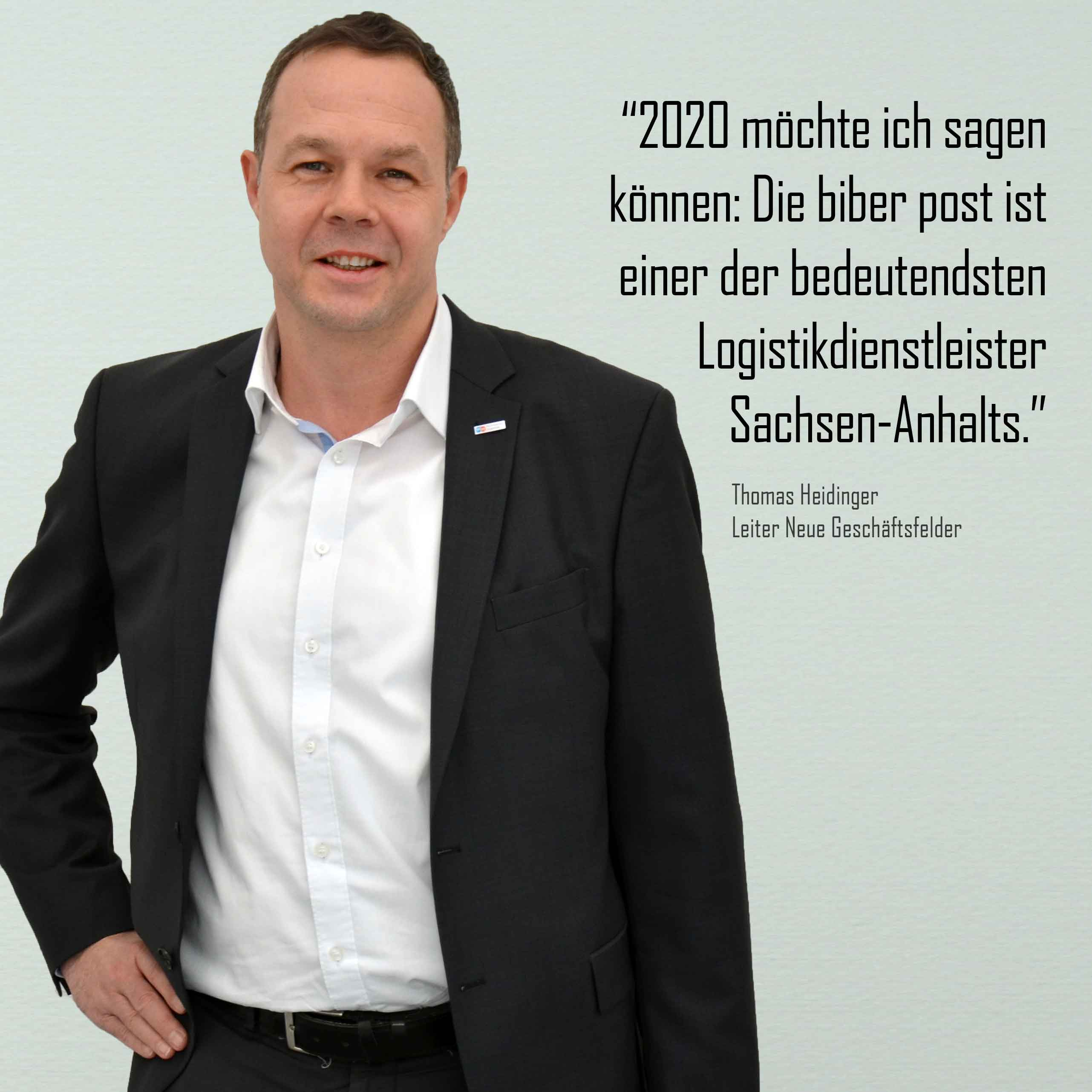 Thomas Heidinger - Statement zur biber post