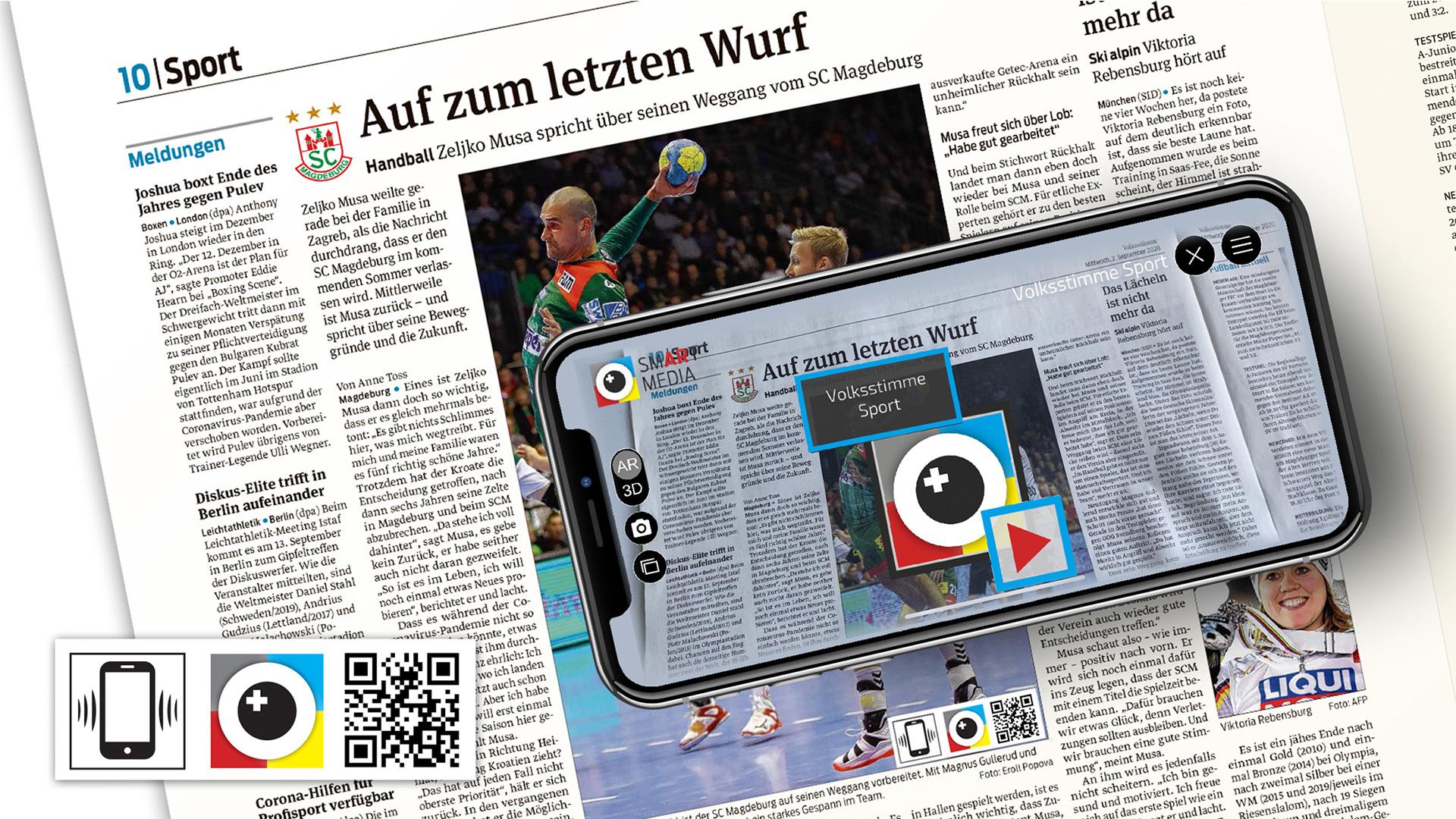 Scannen mit der Smart Media App