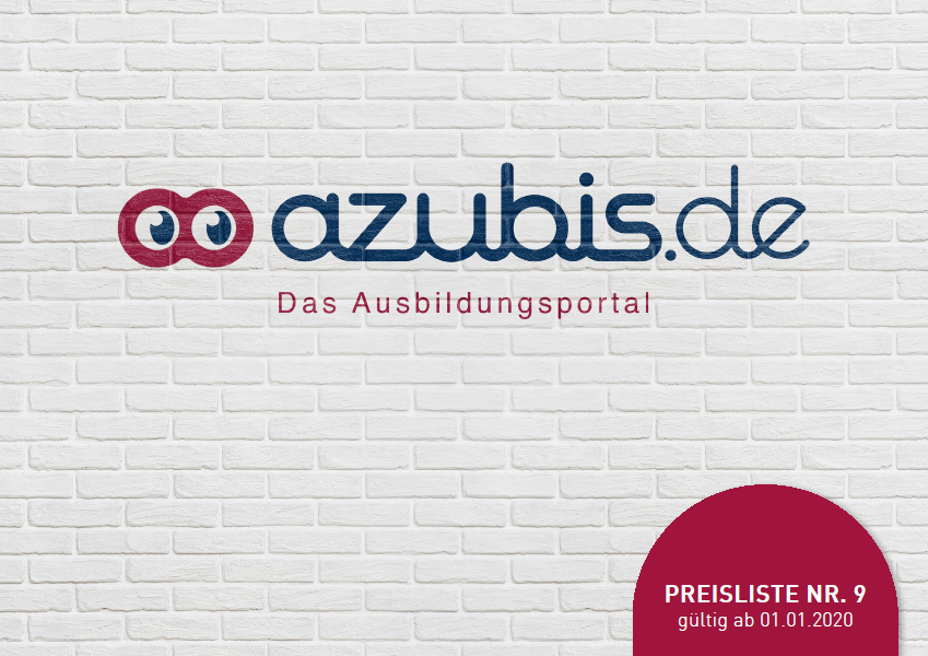 Deckblatt Mediadaten azubis.de