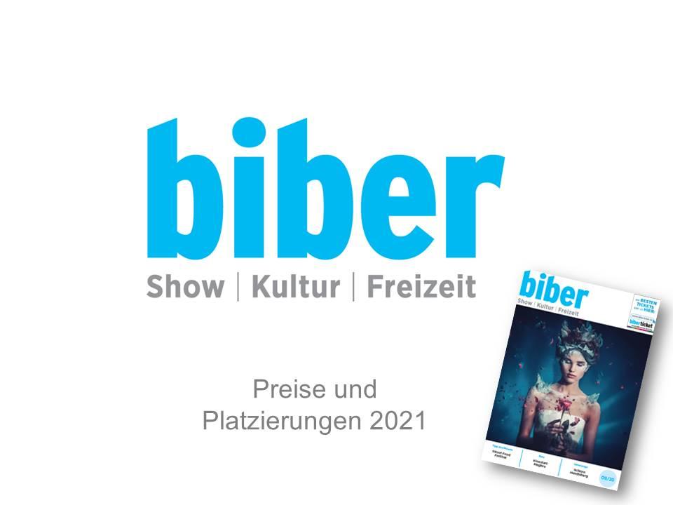 Titelblatt der biber-Magazin Preisliste
