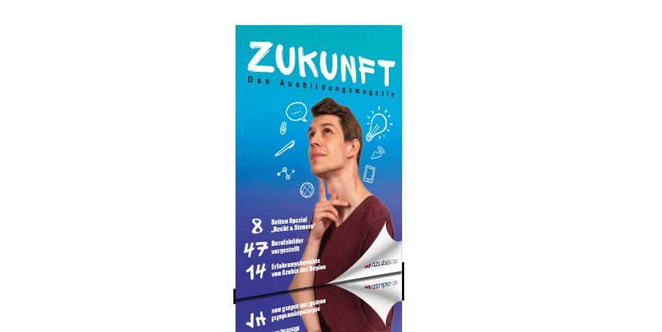 Zukunft - das Ausbildungsmagazin Titelbild Cover