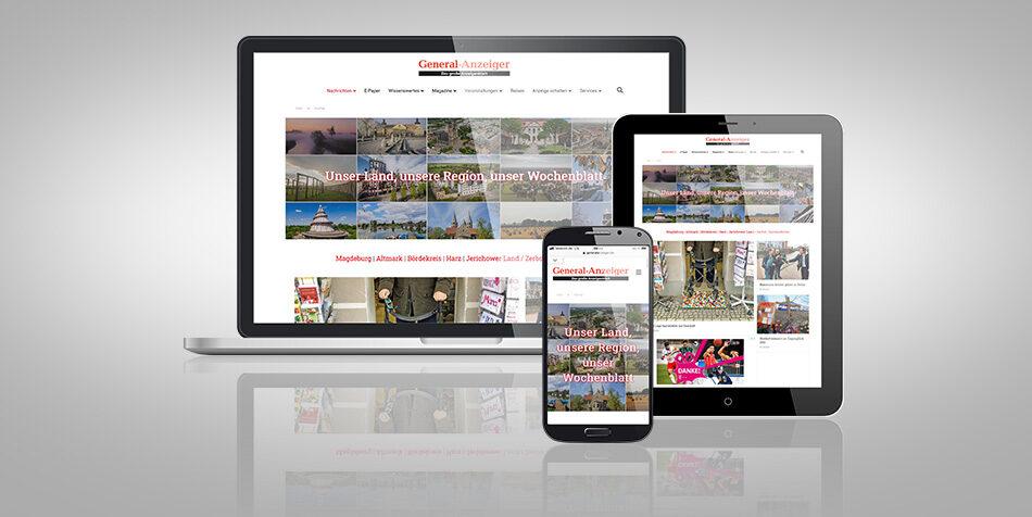 General-Anzeiger auf digitalen Plattformen