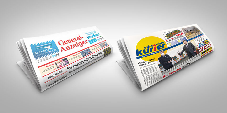 Werben in unseren Anzeigenblättern